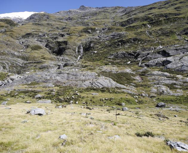 Scenic surrounds of the Ben Ohau Ranges.