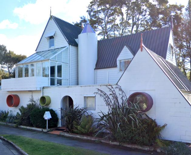 The Dunedin house that has been demolished. PHOTO: GOOGLE