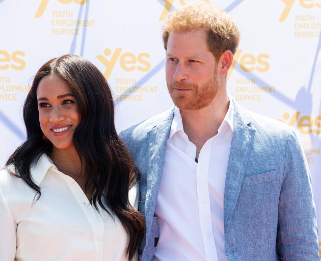 "Harry and Meghan will cease their royal duties at the end of March as they carve out ""a..."