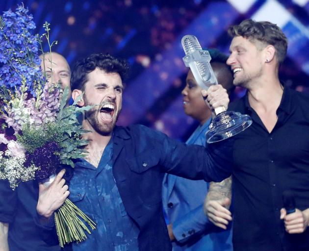 2019 winner Duncan Laurence from the Netherlands. Photo: Reuters