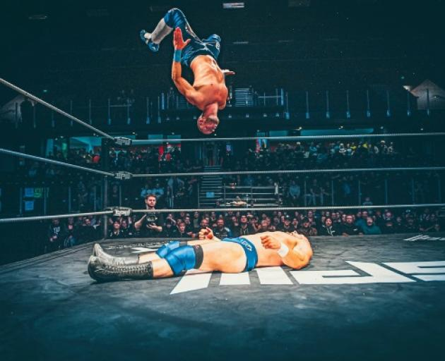 WrestleFest 2020's taking to the ring in Queenstown on Saturday night. Photo: Layton Findlater