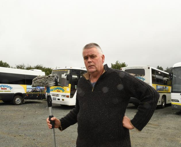 Good Company Tours owner Richard Trainor said he was waiting to see what the Government was going...