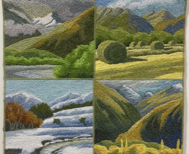 Four Seasons, by Amanda Hasselman