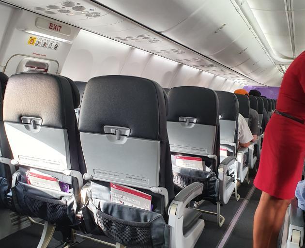 Murray Thompson's empty plane returns to Christchurch.