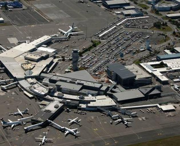 Emergency services are on standby at Christchurch airport. Photo: NZME