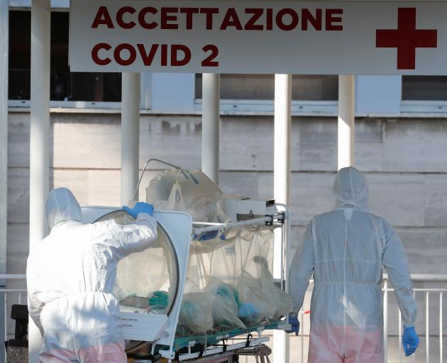 Day seven of Italy's nationwide coronavirus lockdown in Rome. Photo: Reuters