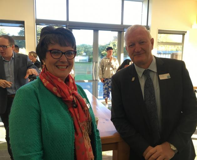 Former Hurunui mayor Winton Dalley and his successor Marie Black are once again tackling drought conditions in North Canterbury. Photo: Allied Press Files