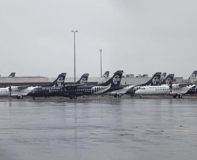 Like most airports around the world, these planes parked up at Christchurch Airport aren't going...