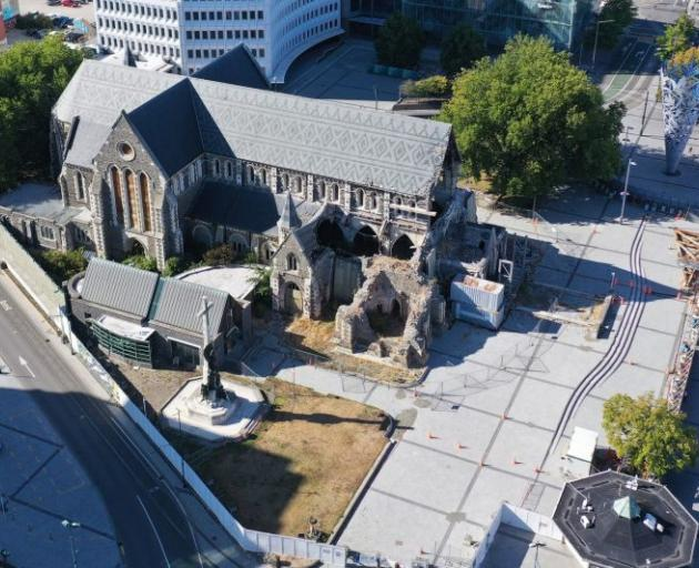 Photo: Christ Church Cathedral Reinstatement Project