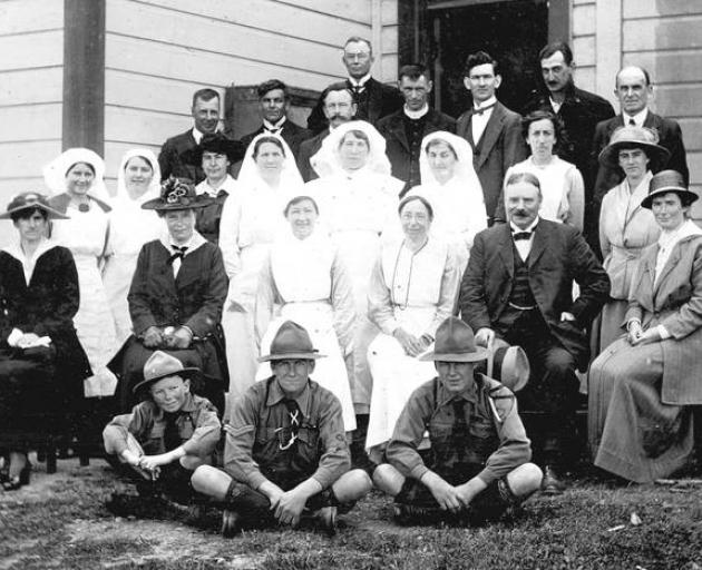 The Eketahuna medical team that battled to save townsfolk during the 1918 influenza epidemic....