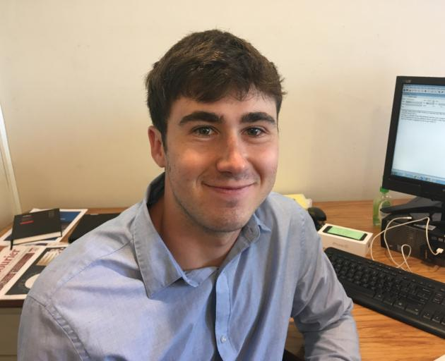 Allied Press reporter George Clark was one of the first on the scene of the Al Noor mosque shootings last year. Photo: Otago Daily Times