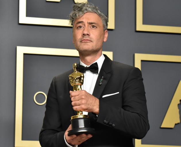 Taika Waititi won the Oscar for Best Adapted Screenplay for the film Jojo Rabbit. Photo: Getty...