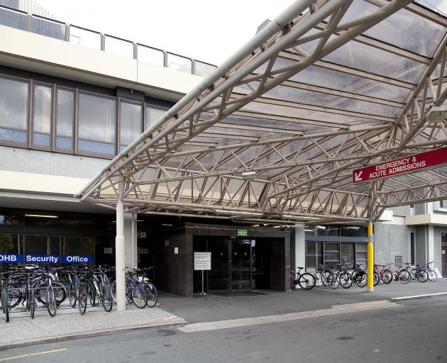 Christchurch Hospital Emergency Department. Photo: Geoff Sloan