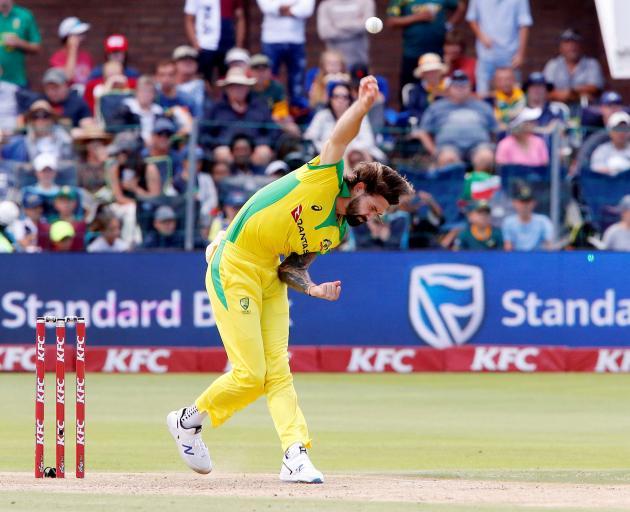 Australia's Kane Richardson in action Action Images via Reuters/