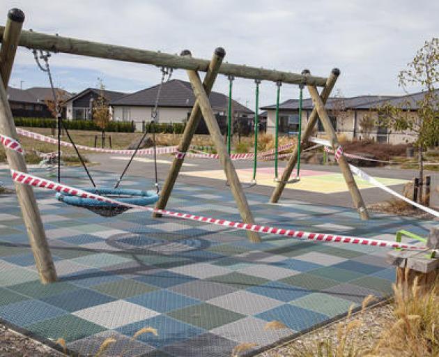 Prestons Park playground. Photo: Geoff Sloan