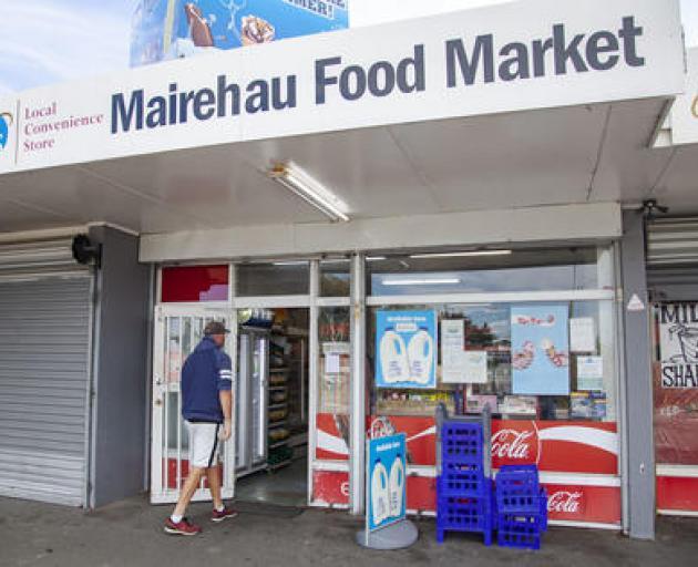 The Mairehau Food Market on Briggs Rd is still open. Photo: Geoff Sloan