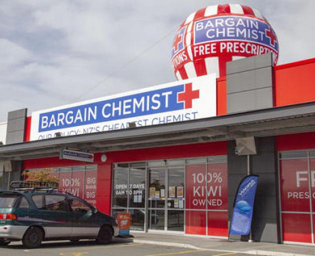 The Bargain Chemist at the Home Base in Shirley.  Photo: Geoff Sloan