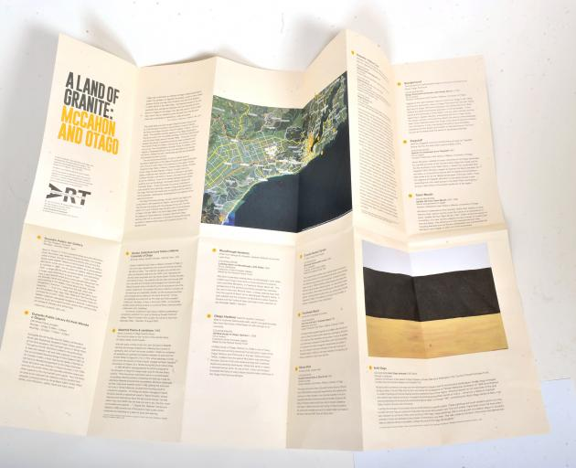 The DPAG offers a tour of spots in Dunedin connected to McCahon's work.