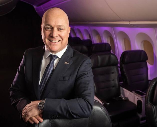 Air New Zealand chief executive Christopher Luxon. Photo: NZ Herald