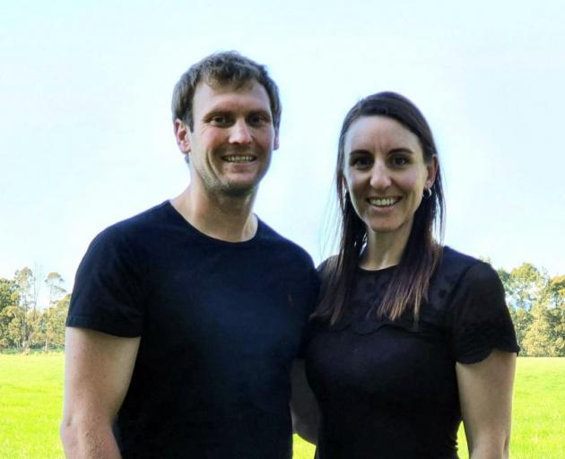 The 2020 Southland-Otago Dairy Industry Awards share farmers of the year are Sam and Karen...