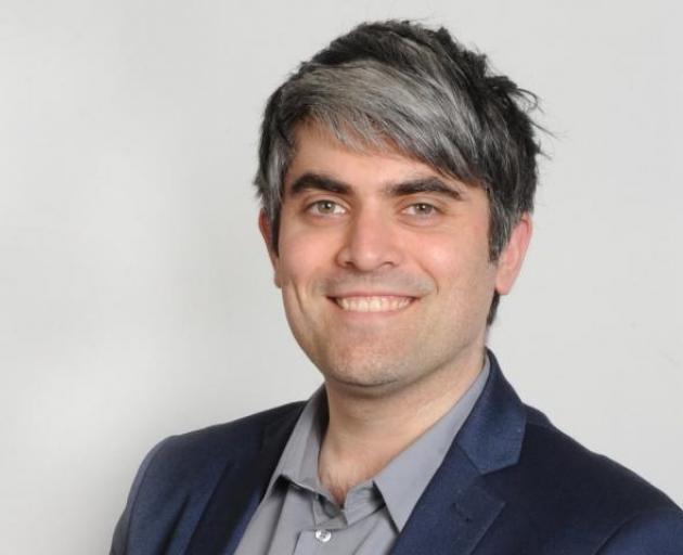 Dunedin mayor Aaron Hawkins. Photo: supplied