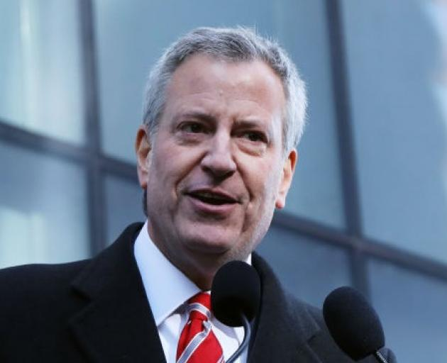 Mayor Bill de Blasio. Photo: Getty Images