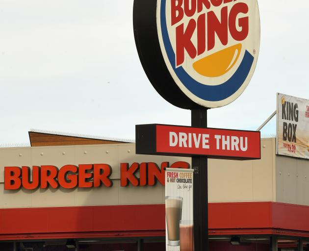Burger King in Andersons Bay Rd. Photo: Stephen Jaquiery