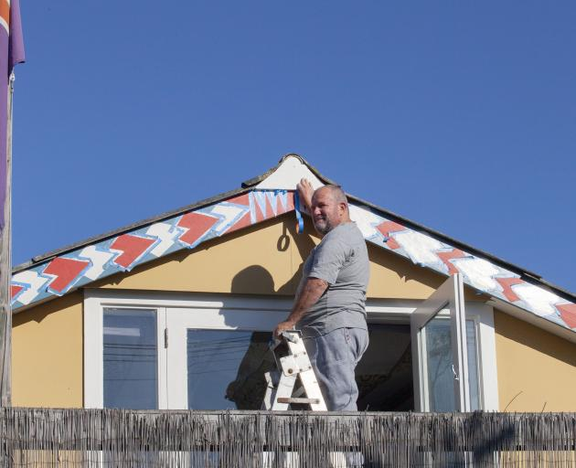 Home improvements on Keppel St, New Brighton.