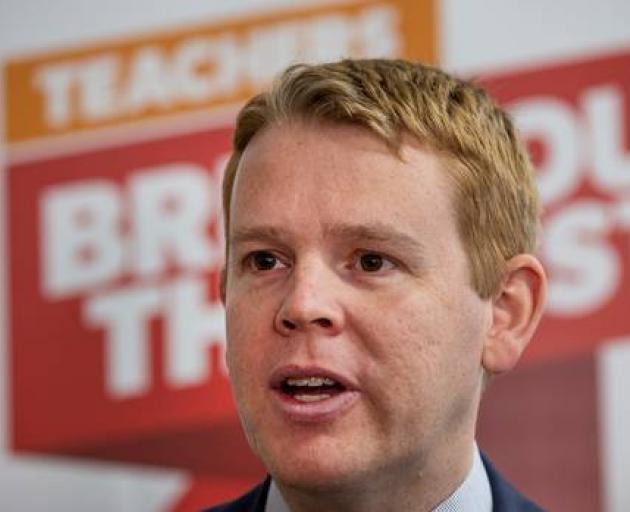 Education Minister Chris Hipkins. Photo: NZ Herald