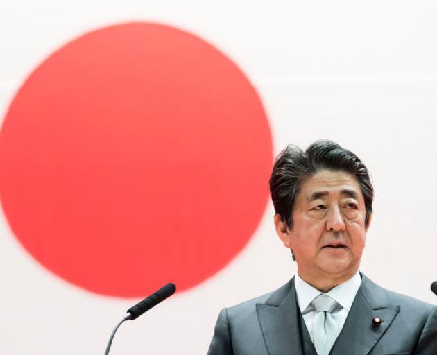 Shinzo Abe. Photo: Getty Images
