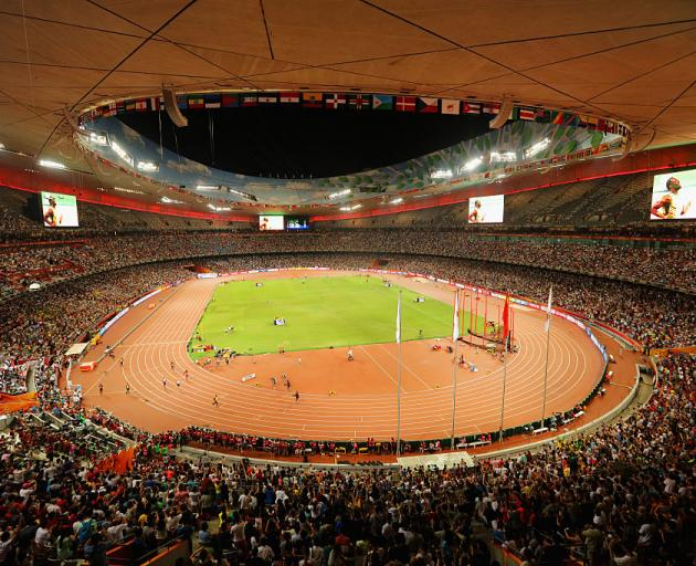China has banned sporting events which will draw large crowds until further notice. Photo: Getty...