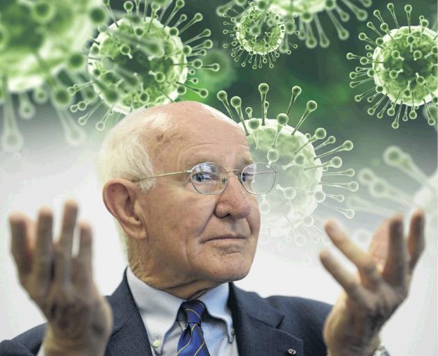 """Balclutha-born Prof Robert Webster the """"Flu Hunter"""" .Photo: ODT files"""