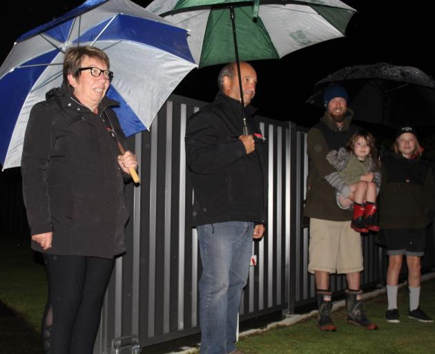 The Anzac spirit of Invercargilll residents wasn't dampened on a soggy Saturday morning as they...