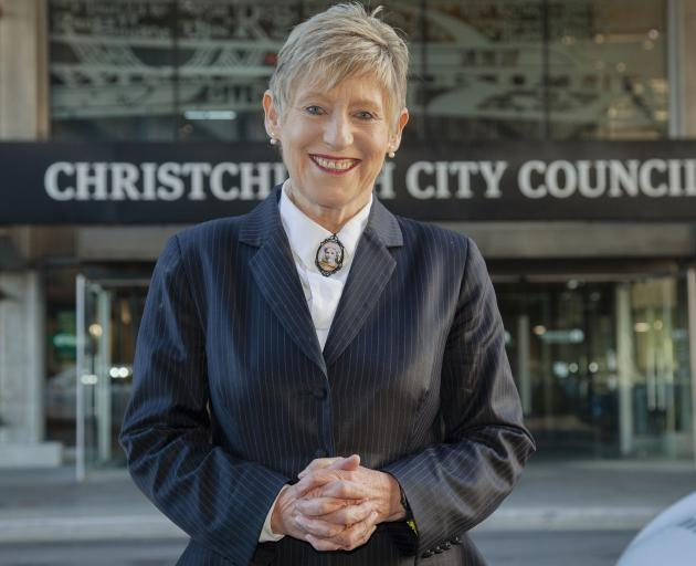 Mayor Lianne Dalziel says she is focused on winning the election and leading the city again....