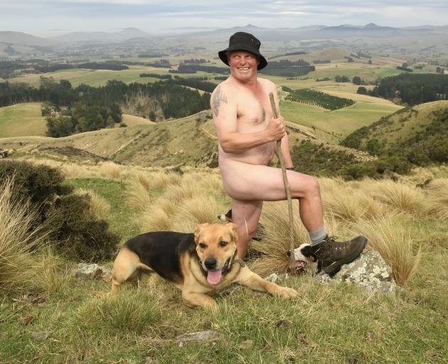 "East Otago farmer Archie Kennedy has been posting ""tasteful"" daily pictures on his Facebook site..."