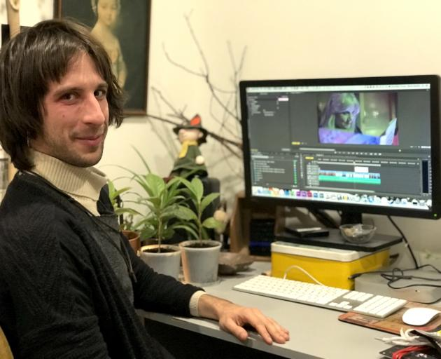 Christchurch filmmaker Martin Sagadin has released three films online which could have been...