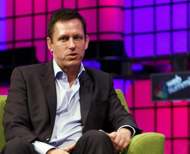 PayPal founder Peter Thiel has a bolt-hole in Wanaka. Photo: Getty Images
