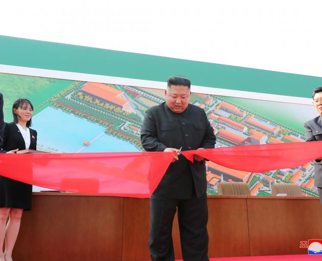 Kim Jong Un ended three weeks of absence by opening a fertiliser plant north of Pyongyang...