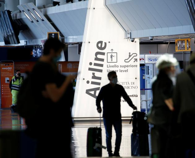 Rome's Fiumicino airport is set to be busy again in June. Photo: Reuters