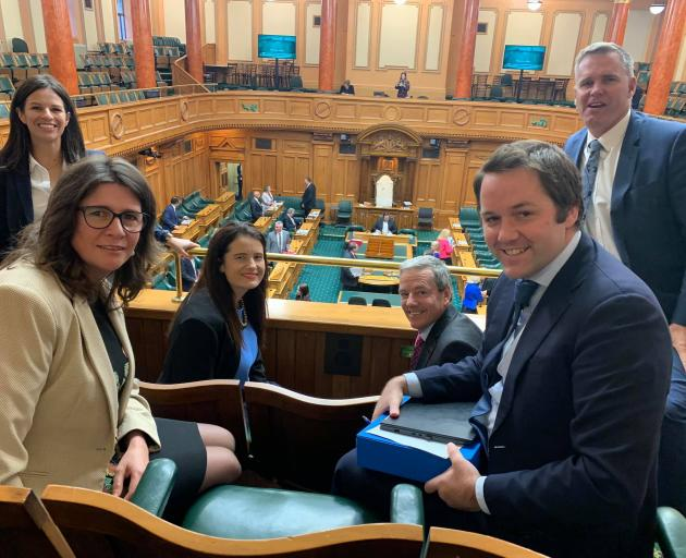 Clutha-Southland MP Hamish Walker (right front) is among those 