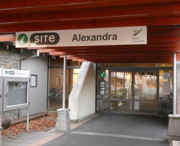 The Alexandra i-Site in Centennial Ave could be under threat of closure as the Central Otago...