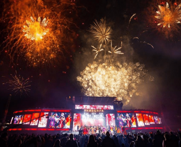 Each year more than 500kg of fireworks and special effects are used for the spectacular finale at...