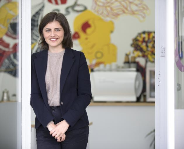 Chloe Swarbrick has learned a lot in her first two years in Parliament. Photo: NZ Herald