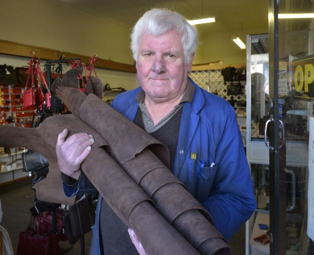 Drake Leather owner Bill Drake is preparing to shut up shop after 45 years in business.