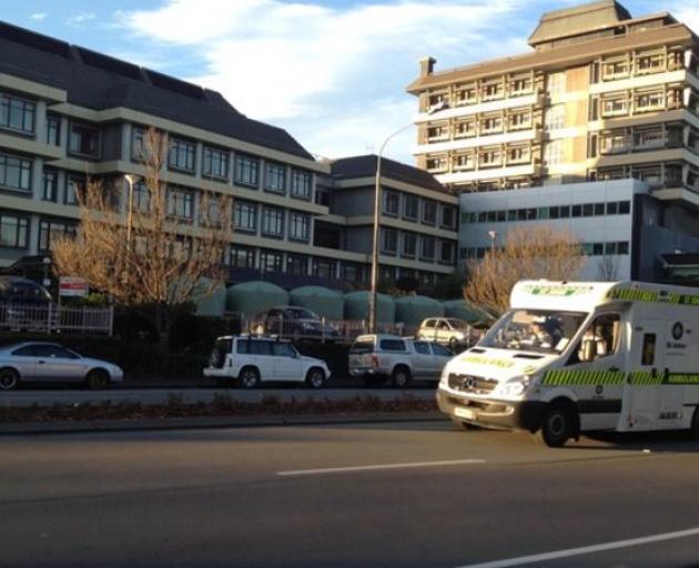 Christchurch Hospital. Photo: RNZ / Karen Brown