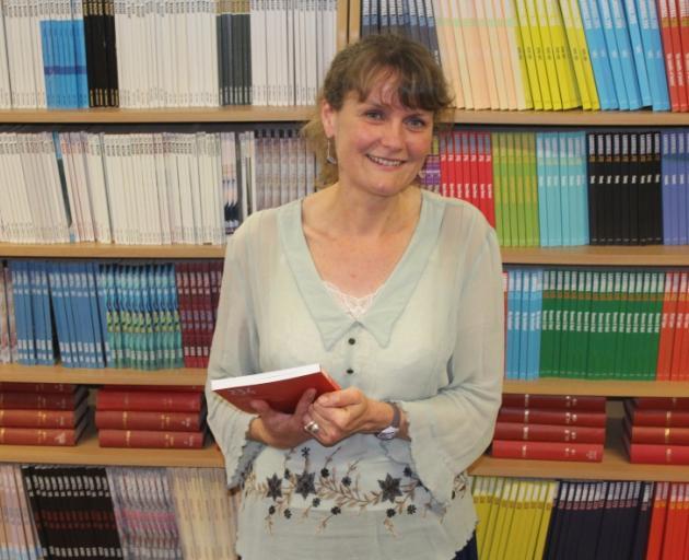 Dunedin poet, author and the editor of Landfall Emma Neale PHOTO: LEROY BUXTON