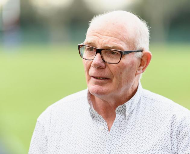Former All Blacks forwards coach Mike Cron. Photo: Getty Images