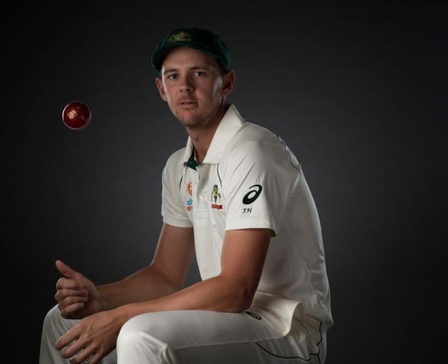 Quick bowler Josh Hazlewood. Photo: Getty Images