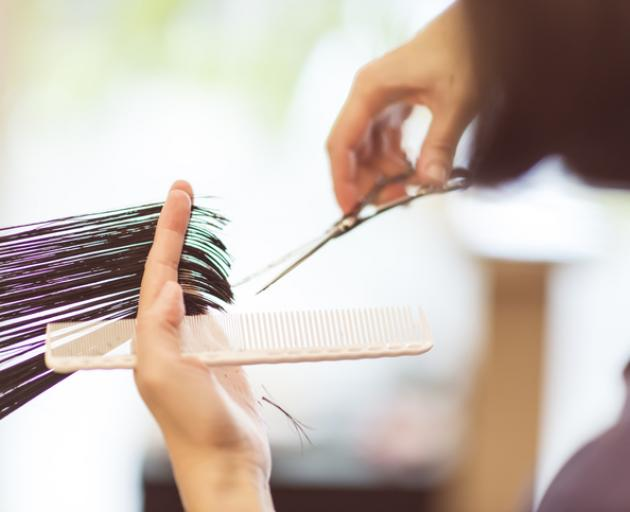 Hairdressers will be able to reopen at alert level 2. Photo: Getty Images