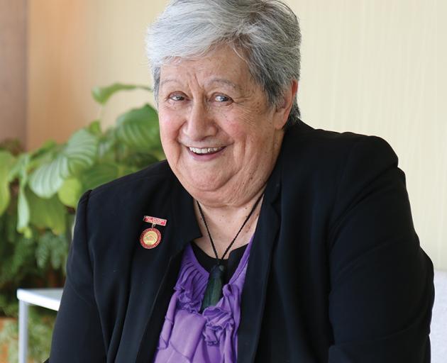 Aroha Reriti-Crofts was made a Dame Companion of the New Zealand Order of Merit. Photo: Te...